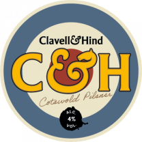 Clavell and Hind Cotswold Pilsner (24x330ml)