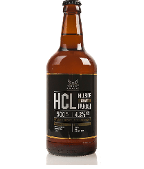 HCL Hillside Brewery Lager 4.3% (12x500ml)