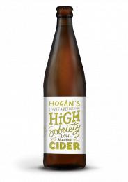 Hogan's High Sobriety 1% Cider (12 x 500ml)