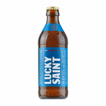 Lucky Saint Unfiltered Lager 0.5% (20 x 330ml)