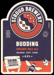 Stroud Brewery Budding Organic Ale Cans (12 x 440ml)