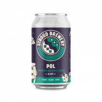 Stroud Brewery POL Lager Can (12 x 440ml)
