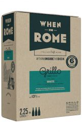 When in Rome Grillo DOC Sicilia Bag in Box 2.25L