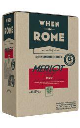 When in Rome Merlot Bag in Box 5L
