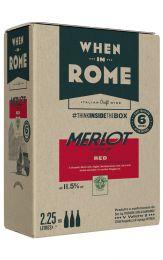 When in Rome Merlot Bag in Box 2.25L