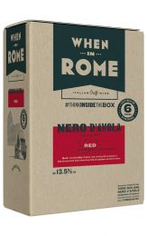 When in Rome Nero d'Avola Bag in Box 5L