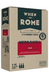 When in Rome Nero d'Avola Bag in Box 2.25l