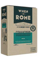 When in Rome Sauvignon Blanc Bag in Box 5L