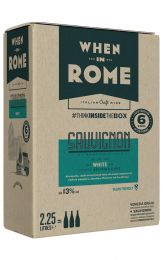 When in Rome Sauvignon Blanc Bag in Box 2.25L