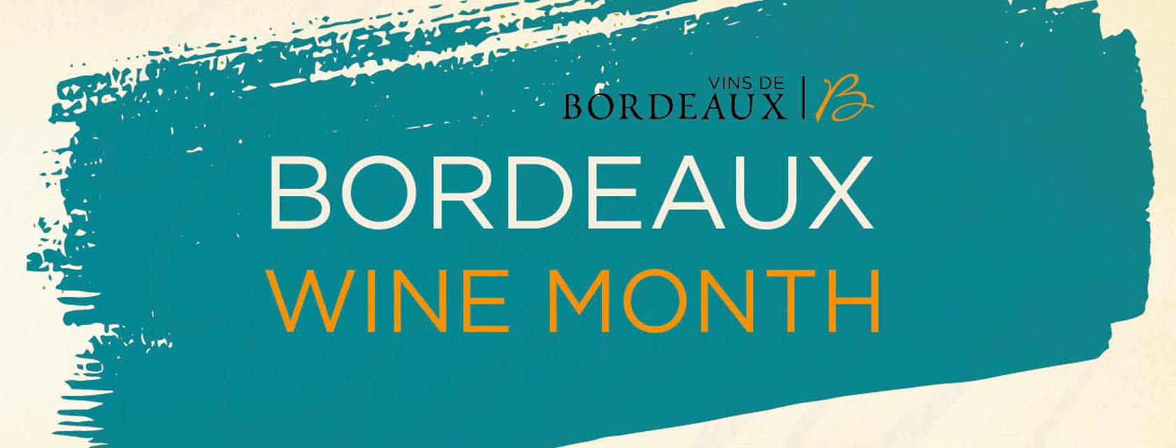 Bordeaux Wine Month Banner Image