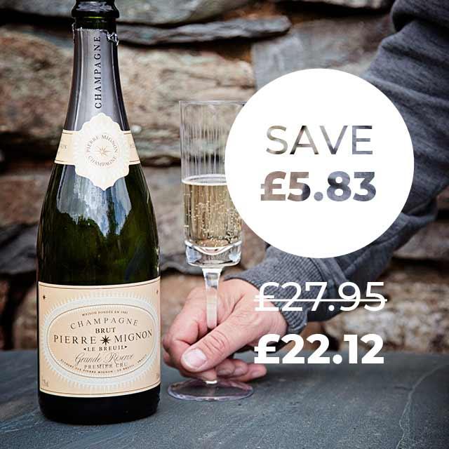 Wine Club Saving Example - Champagne