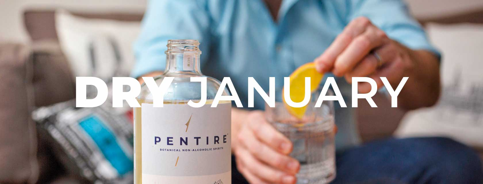 Dry January Promo Banner Image