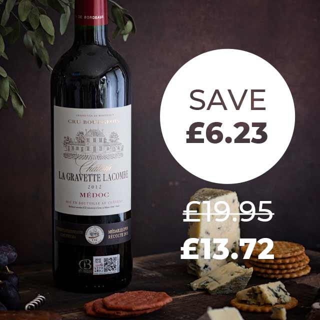 Wine Club Saving Example - Lacombe Medoc