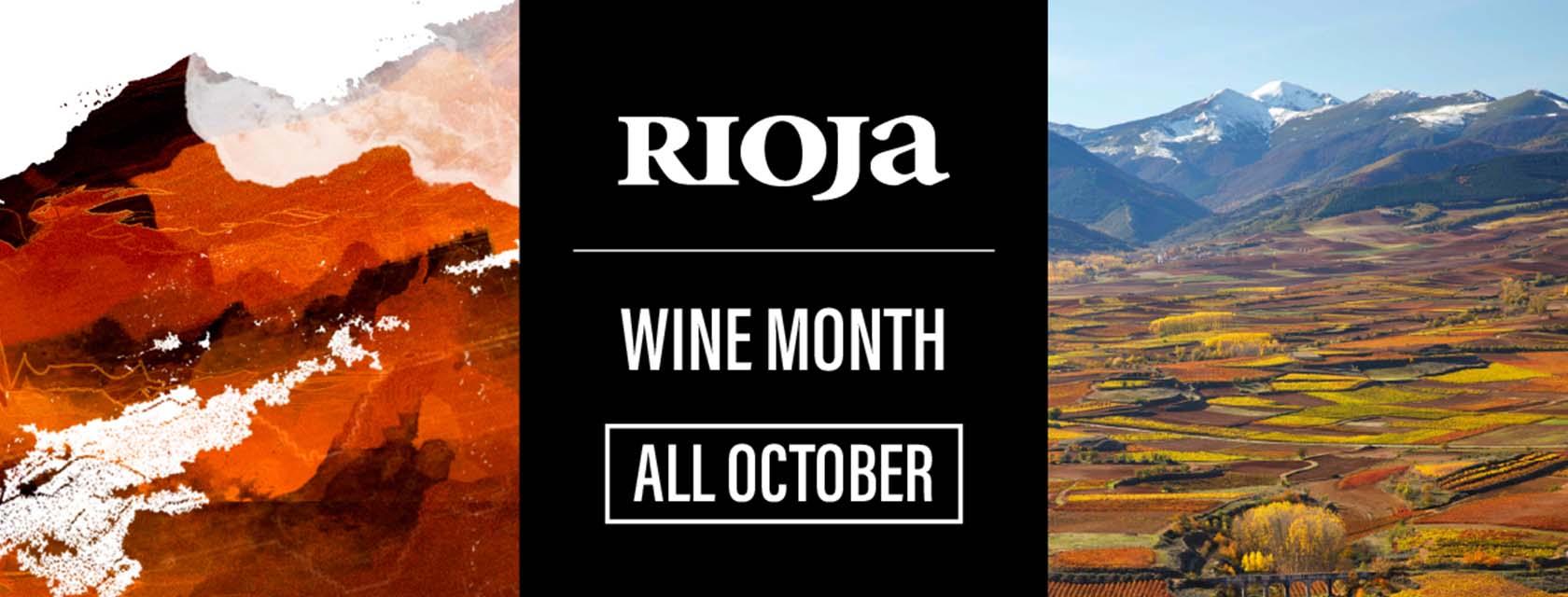 Rioja Wine Month Banner Image