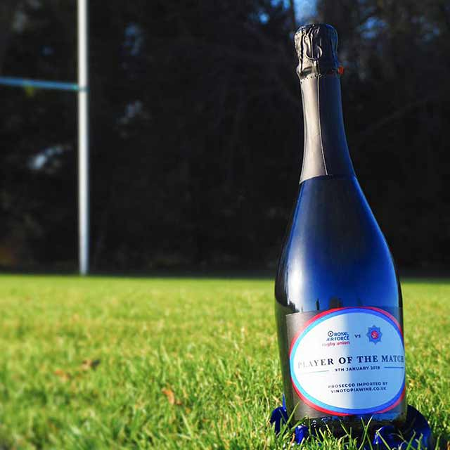 Rugby Player of the Match Prosecco