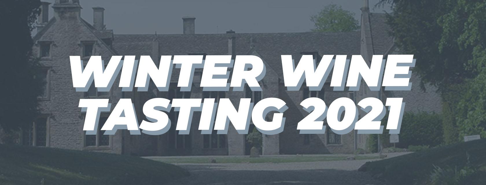 Winter Wine Tasting Ticket Banner Image